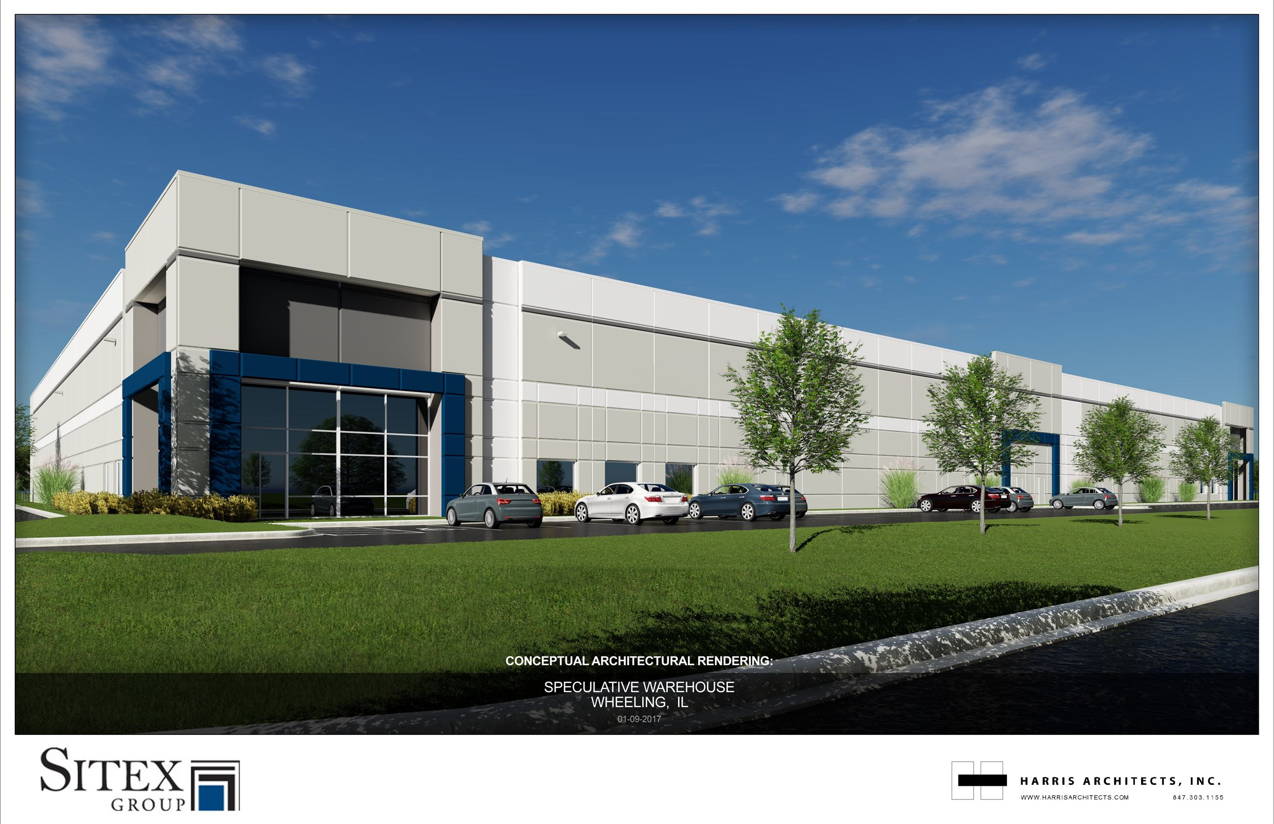 Sitex Industrial Building - Elevation