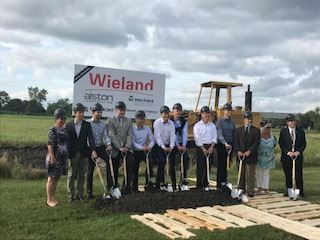Wieland Metals Groundbreaking - Wheeling Trustees