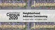 2020 Address Canvassing