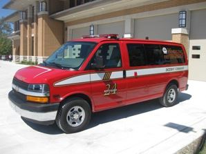 Battalion Chief Shift Commander Van (2007 Chevrolet AWD Van)